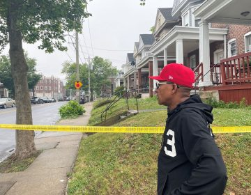 The Rev. Derrick Johnson says he thinks the nearly 12-hour standoff could have ended with Goodwyn's surrender. (Cris Barrish/WHYY)