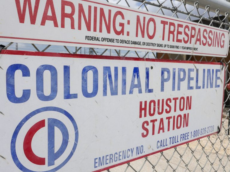 Image showing the Colonial Pipeline Houston Station facility in Pasadena