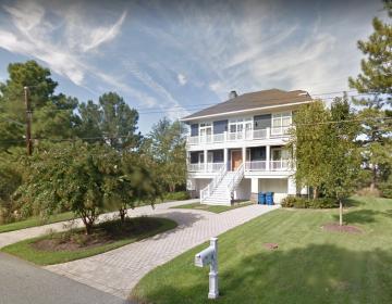 The Biden's beach house in Rehoboth Beach, Delaware. (Google maps)