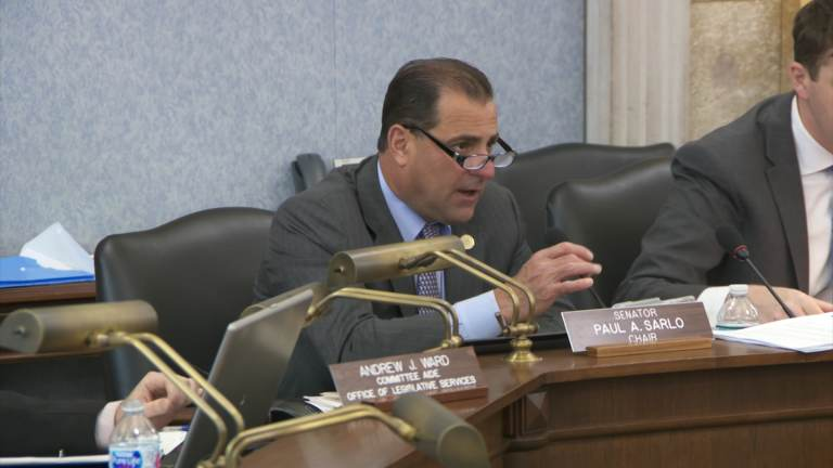 Paul Sarlo chairs the N.J. Senate budget committee