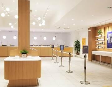 The interior of the new Sunnyside dispensary in PhiladelphiaCOURTESY CRESCO LABS