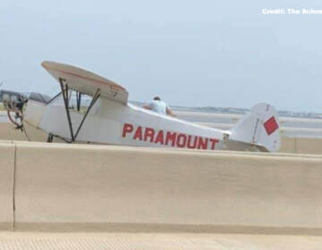 A small plane makes an emergency landing on an Ocean City bridge.