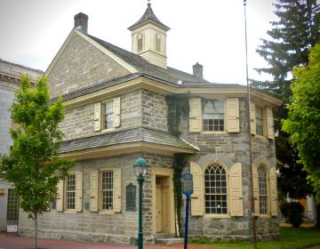 1724 Chester Courthouse in the City of Chester, Pa., on Avenue of the States. (Wikimedia Commons/public domain)