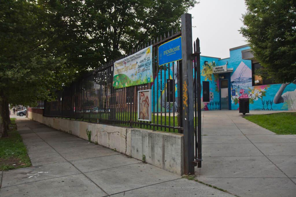 The exterior of Penrose Recreation Center