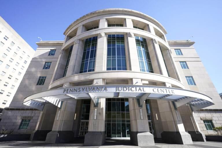 A general view of the Pennsylvania Judicial Center