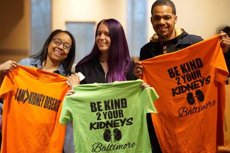 Nichole Jefferson (far left) is a kidney patient advocate based in Dallas, Texas. (Photo courtesy of Nichole Jefferson)
