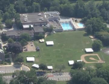 An overhead view of Kaiserman JCC summer camp