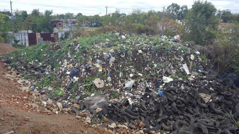 A pile of toxic debris in Camden