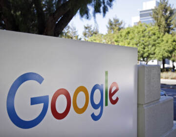 Google said Wednesday it would require its U.S. employees to be vaccinated before coming to work. Facebook followed suit shortly afterward with a similar announcement. (Marcio Jose Sanchez/AP)