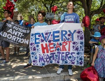 Thousands of pro-life demonstrators came out to protest outside the Texas state capitol last month in Austin, in response to a bill signed by Gov. Greg Abbott outlawing abortions after a fetal heartbeat is detected. (Sergio Flores/Getty Images)