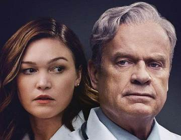 Kelsey Grammer and Julia Stiles in The God Committee