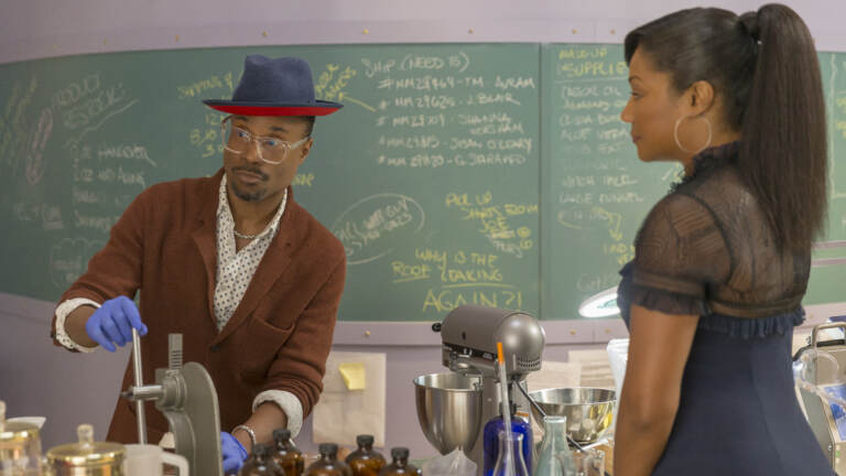 Billy Porter and Tiffany Haddish in Like a Boss. GLAAD called Porter's character, Barrett,