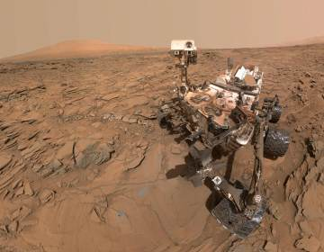 A self portrait of Curiosity from 2016. (NASA/JPL-Caltech/MSSS)