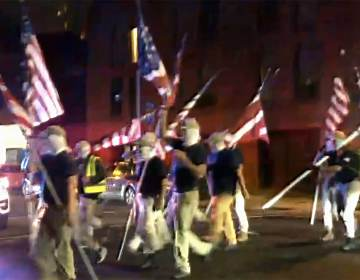 White supremacists marched through Philadelphia