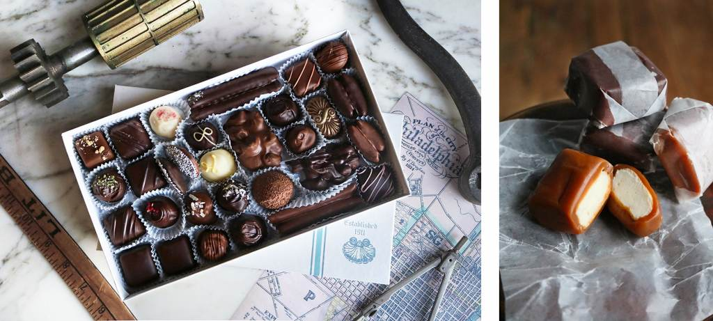 Chocolates from Shane Confectionery