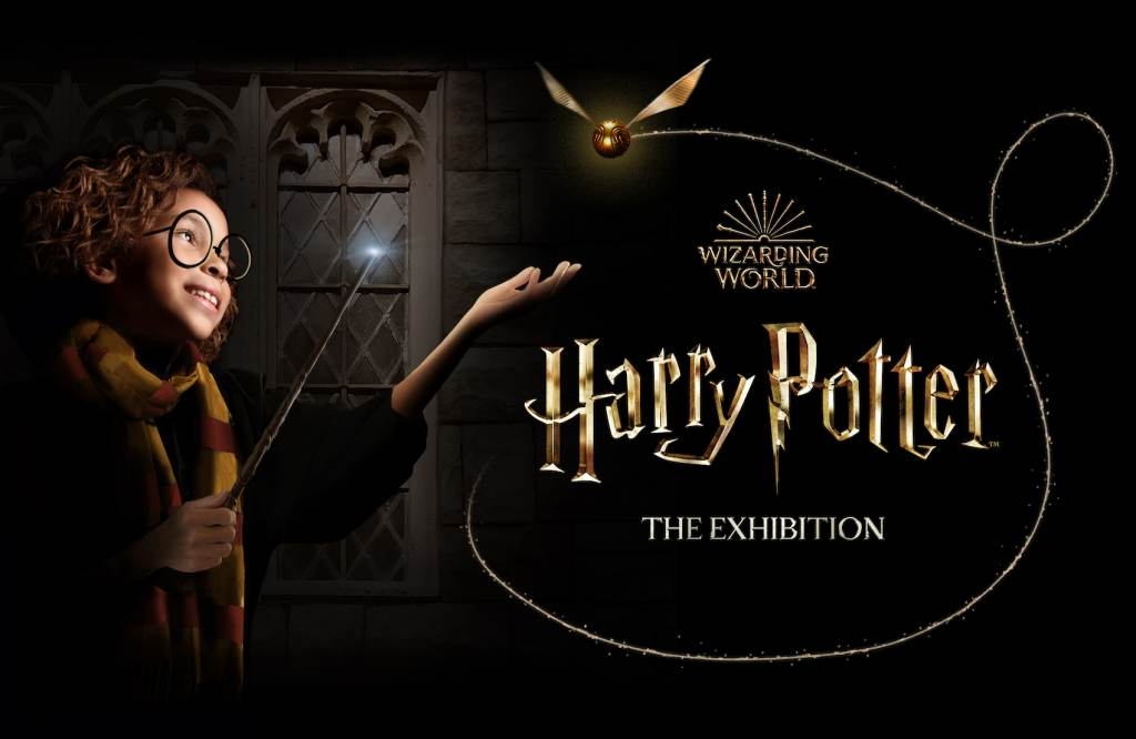 A promo image of the Harry Potter exhibition