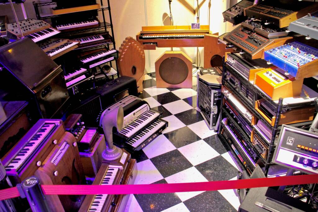 The collection at the Electronic Music Education and Preservation Project