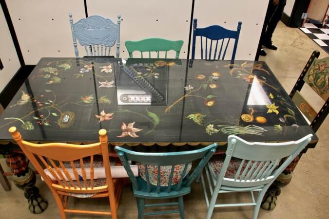 Frank Zappa's kitchen table