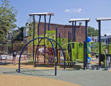A new park and playground at 11th and Venango Street