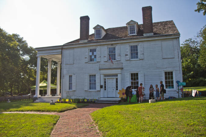 The Hatfield House in Philadelphia's Strawberry Mansion neighborhood