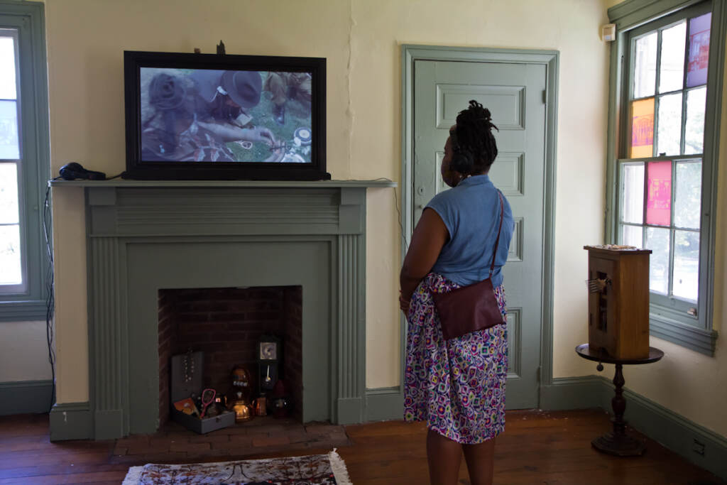 """The Black Quantum Futurism collective is presenting their Afro-futuristic film """"Write No History"""" and art exhibit at the historic Hatfield House."""