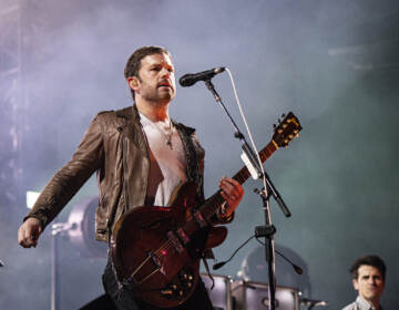 Caleb Followill of Kings of Leon performs during KAABOO 2019 at the Del Mar Racetrack and Fairgrounds