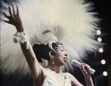 Josephine Baker is among the figures covered by Black Paris Tours, as they offer a glimpse of the mutual love affair between African-Americans and the City of Light, and Africans' history in France as a whole. (AP Photo/File)