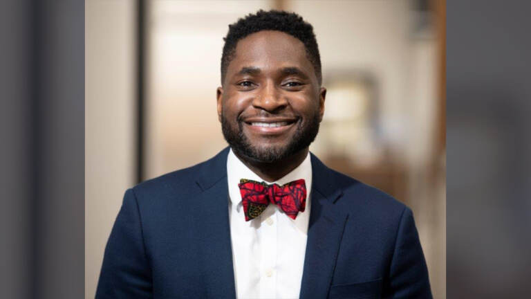 Utibe R. Essien, M.D., M.P.H., is a health services researcher at VA Pittsburgh Healthcare System Center for Health Equity Research and Promotion and an assistant professor of medicine at the University of Pittsburgh. (Courtesy of Utibe Essien)