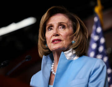 House Speaker Nancy Pelosi (D-CA) speaks at her weekly news conference at the Capitol building on August 06, 2021 in Washington, DC. (Anna Moneymaker/Getty Images)