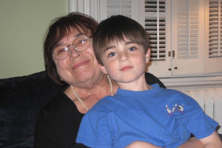 Jacob Smollen as a kid with his grandmother, Mindy Smollen. (Courtesy of Jacob Smollen)