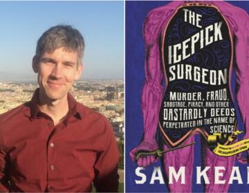Sam Kean, author of The Icepick Surgeon: Murder, Fraud, Sabotage, Piracy, and Other Dastardly Deeds Perpetrated in the Name of Science. (Little, Brown and Company Publishers)