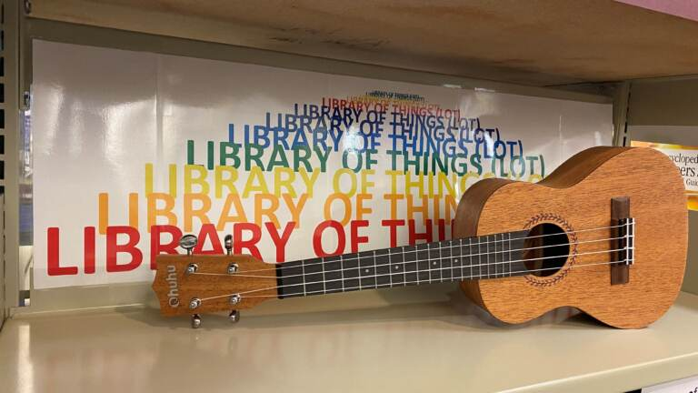 From musical instruments to puzzles and podcast microphones to household tools, Newark Free Library is now offering much more than just books through its