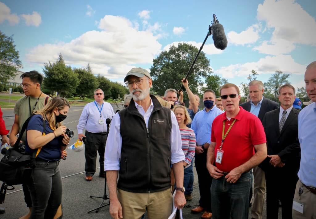 Gov. Wolf speaks in aftermath of Hurricane Ida