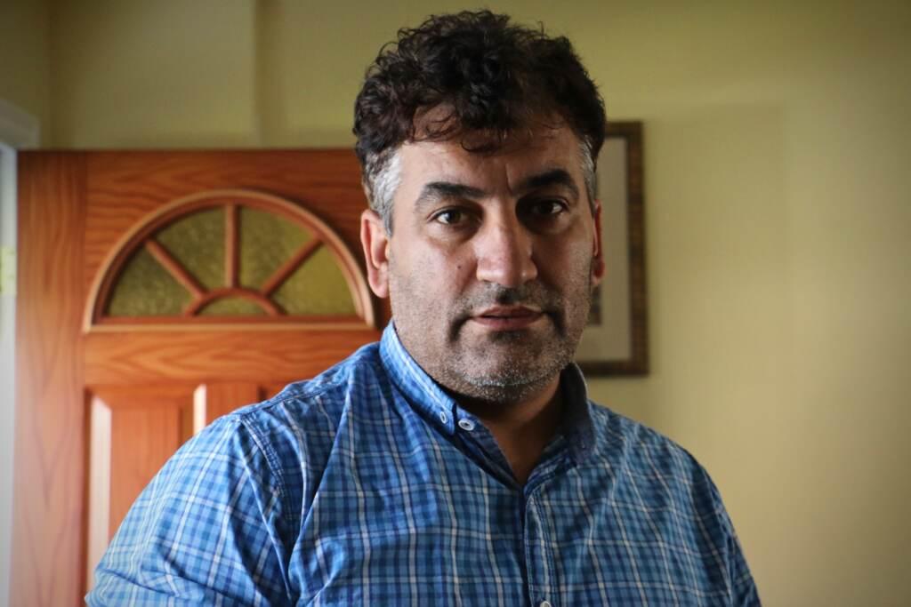 A closeup of Mohammed Sadeed