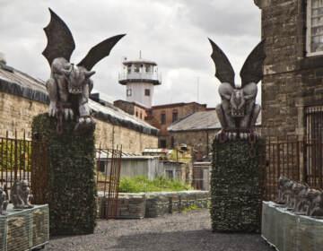 Gargoyle Gardens at Eastern State Penitentiary