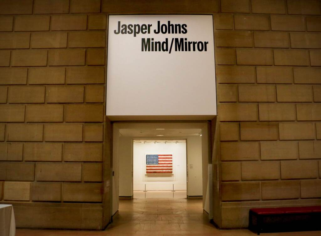 A lifetime retrospective of the work of Jasper Johns, organized by the Philadelphia Museum of Art and the Whitney Museum of American Art, is being presented simultaneously at both institutions. Visitors who attend the exhibition at one venue will get half-price admission to the other