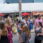 The scene of a previous 2nd Street Festival.