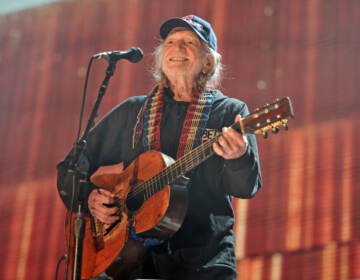 Willie Nelson performs at Farm Aid 30 at FirstMerit Bank Pavilion at Northerly Island in Chicago