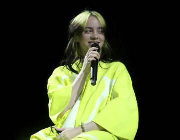Billie Eilish perfroms live on stage at the 2020 Spotify Best New Artist Party at The Lot Studios on Thursday, Jan. 23, 2020, in West Hollywood, Calif. (Photo by Willy Sanjuan/Invision/AP)