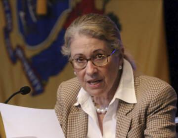 File photo: NJ Department of Health Commissioner, Judy Persichilli at the War Memorial in Trenton, NJ on June 5, 2020