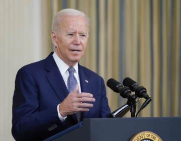 President Joe Biden is pictured