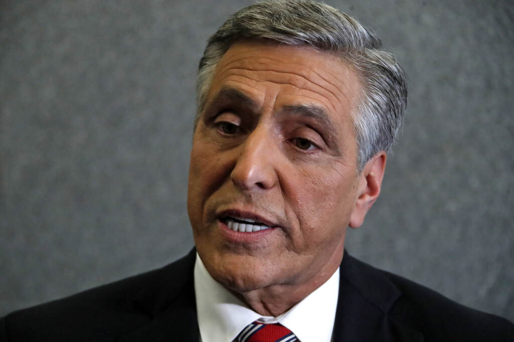 Lou Barletta is pictured