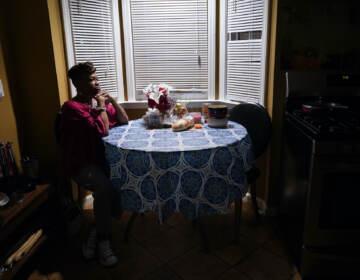 Karla Jefferies is shown in her kitchen
