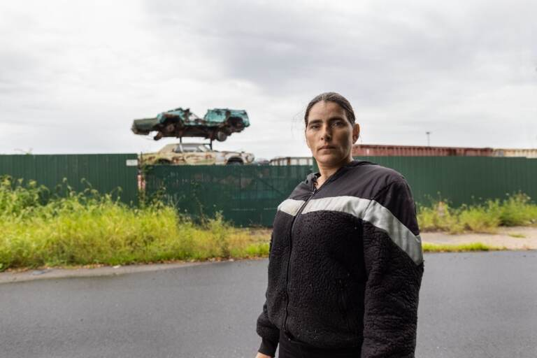 Ameera Shaheed is suing the city of Wilmington and its towing contractors, accusing them of selling her car for scrap because she owed $320 in parking fines. (Institute for Justice photo)