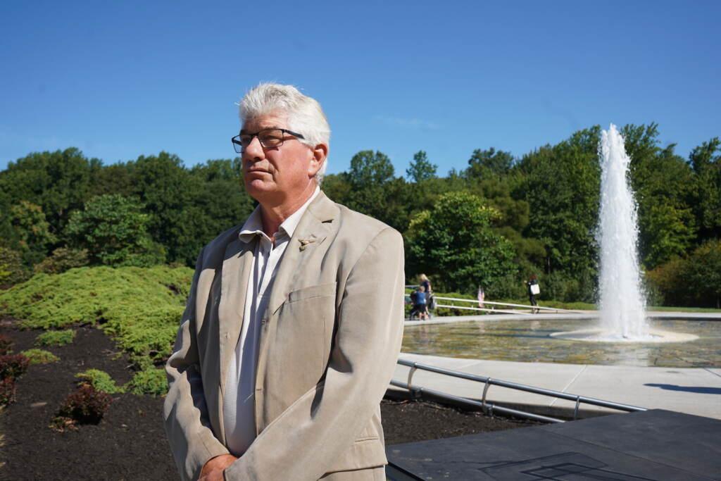 Chuck Manziak, a retired airline pilot, flew over ground zero just days after the attack — it was still 'smoldering.'