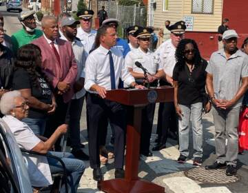 Pa. AG Josh Shapiro and members of the PPD shared preliminary results of a six month partnership of the OAG Strategic Response Team working with West Philadelphia police districts. (Shapiro / twitter)