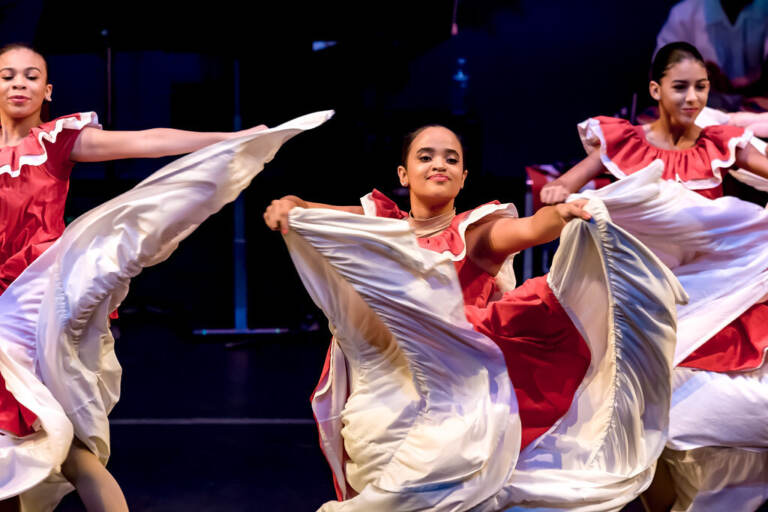 Members of the Esperanza Academy Dance Ensemble will appear at the Kimmel Center's Arts Launch 2021 festival, performing traditional Puerto Rican dance with modern interpretations