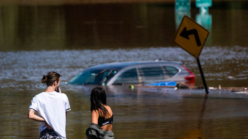 Flooding after Ida.