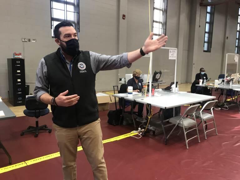 FEMA spokesperson is pictured