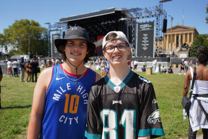 Liam Holmes, 17, and Sean Fitzpatric, 16, wanted to end the summer with a